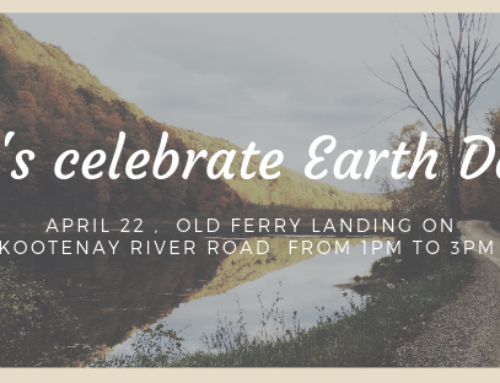 Earth Day Clean-up Celebration Mon. Apr. 22nd 1-3PM